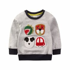 2017 trends Spring Autumn Winter baby boys long sleeve Cartoon casual super hero  t-shirt t shirts for boys girls 1-6 years //Price: $17.16 & FREE Shipping //     #toddlers