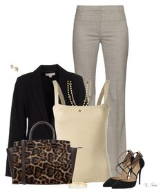 """""""Office"""" by ksims-1 ❤ liked on Polyvore featuring Altuzarra, MICHAEL Michael Kors, Dolce&Gabbana, Office, Chanel, Kate Spade, women's clothing, women, female and woman"""