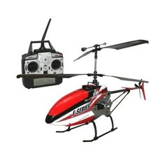 """31"""" MJX F639 (F39) RC Helicopter 2.4G 4CH F-SERIES GYRO & Dual-Mode LCD Transmitter HF39 Red 