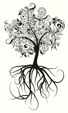 En Cuerpo y Arte ya te hemos mostrado algunos diseños de tatuajes de árbol, pero como los consejos nunca están de más, y las figuras para los tatuajes evolucionan cada día, hoy les traemos más ideas para tatuajes de árbol. El árbol tiene una fuerte simbolog