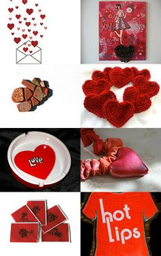 Sending Love This Valentine's Day by Maya on Etsy--Pinned with TreasuryPin.com
