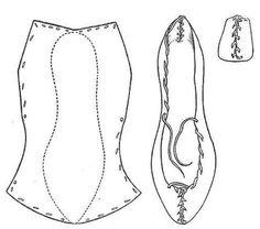National Museum 1908 : Aran Islands, Co. National Museum 1908 : Aran Islands, Co. Costume Patterns, Doll Patterns, Clothing Patterns, Sewing Patterns, Medieval Clothing, Historical Clothing, Sewing Clothes, Diy Clothes, Shoe Pattern
