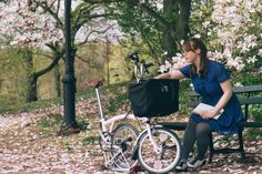 Hey, that's me!! My Brompton and I are Pinterest famous.