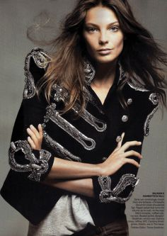 Daria Werbowy in Quick Change Artist for Vogue, May 2009  Shot by David Sims  Styled by Tonne Goodman