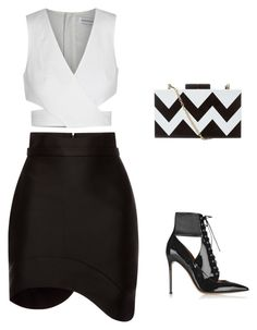 """""""Untitled #717"""" by carlene-lindsay ❤ liked on Polyvore featuring Antonio Berardi, Finders Keepers and Gianvito Rossi"""
