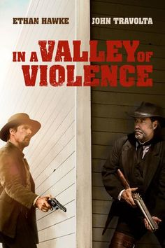Poster In a Valley of Violence 2016