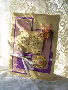 Happy Birthday to You handmade greeting card by BennBooCreations, $7.50