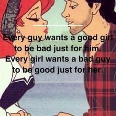 good girl-bad boy
