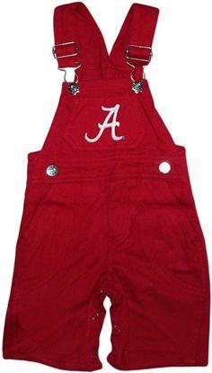 "Alabama Crimson Tide Script ""A"" Long Leg Overalls"