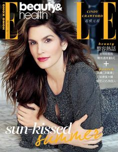 Cindy Crawford by Olivier Desarte - Hong Kong Aug. Pink Fashion, Fashion Models, News Health, Cindy Crawford, Health And Beauty Tips, Hd Photos, Beautiful Actresses, Supermodels, Most Beautiful