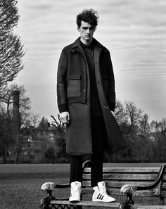 THE REAL THING Elliot Vulliod in Umit Benan shot in London by...