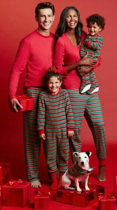 ♥ Our Christmas Family Photo, SMILE!