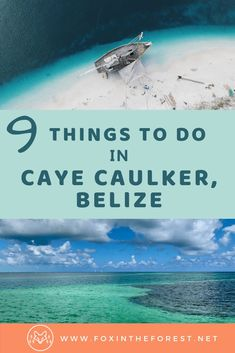 Visiting Caye Caulker in Belize soon? On this guide I share my top tips favorite excursions things to eat where to stay and the best things to do on a holiday to Caye Caulker the best destination in Belize. Belize Vacations, Belize Travel, Mexico Travel, Belize Honeymoon, Belize Resorts, Beach Travel, Belize Snorkeling, Italy Honeymoon, Italy Vacation