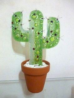 cactus vitrofusion - Buscar con Google