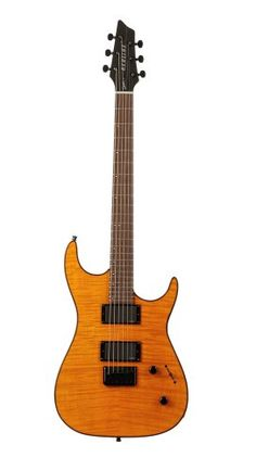 Godin Redline 2 Electric Guitar (Trans Amber Flame RN) *** You can find more details by visiting the image link.