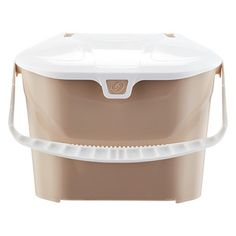 Kitchen Collector Compost Bin Taupe, x x h Recycling Containers, Recycling Bins, Kitchen Compost Bin, Taupe Kitchen, Pail Bucket, Garbage Can, Trash Bins, Tonne, Container Store