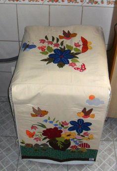 Capa para máquina de lavar roupas ou secadora