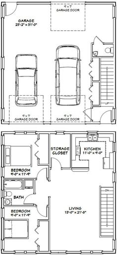 I wouldn't keep the giant storage closet upstairs with storage area in the garage. Could be better used for more than storage. 30x32 House -- #30X32H1F -- 986 sq ft - Excellent Floor Plans