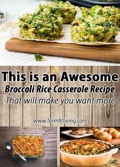 I'm sharing my all-time favorite vegetarian broccoli rice casserole recipe with you. This is the best recipe that will make you want seconds every time.