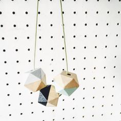 Hexagon necklace Wooden geometric necklace Hand by Ohyeahwood Geometric Necklace, Geometric Jewelry, Sliding Knot, Photo On Wood, Minimalist Necklace, Diy Necklace, Wooden Beads, Wood Print, My Etsy Shop