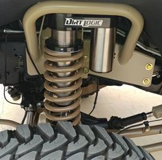 Dirt logic coilover bolt on conversion