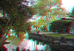 Lawn with water front viewing. Anaglyph 3D Paradise | 6903287309_550d62fb55_z.jpg
