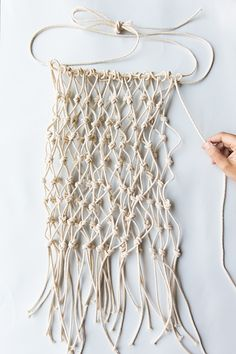 Making a Net Produce Bag - Say Yes