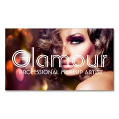 Makeup Artist, Cosmetologist, Beauty, Salon Business Cards. I love this design! It is available for customization or ready to buy as is. All you need is to add your business info to this template then place the order. It will ship within 24 hours. Just click the image to make your own!