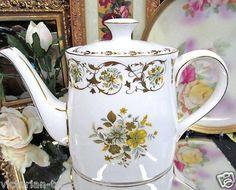 Royal Crown Derby Teapot Grosvenor Pattern Perfect   eBay