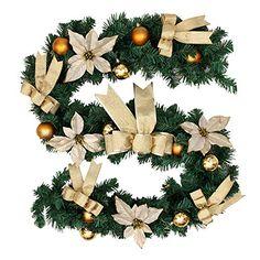 6Ft/1.8M Decorated Garland Christmas Decoration Xmas Fest... https://www.amazon.co.uk/dp/B01MFAI0AD/ref=cm_sw_r_pi_dp_x_SrKCyb2CAFHSM