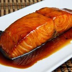 Slow Cooker Maple Salmon   MyRecipes.com