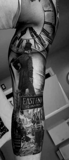 You know.. I'm not in to heavy tattooing but the BEST tattoo I have EVER seen.