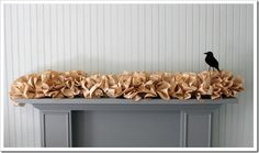 bookpage garland. staples & bookpages. that's it. via Shabby Creek Cottage.