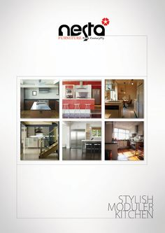 Nesta Kitchen Catalog Design / Client: Century Ply
