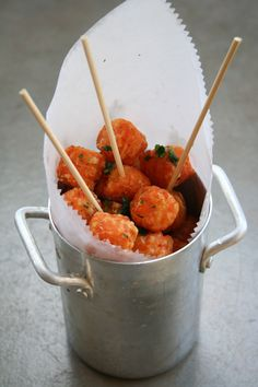 Sweet Potato Tater Tots + roasted jalapeno-limi aioli for dipping @ www.lazydogcafe.com