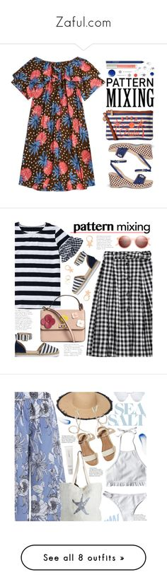 """""""Zaful.com"""" by beebeely-look ❤ liked on Polyvore featuring StreetStyle, Summer, Spring, casual, dresses, STELLA McCARTNEY, Tommy Bahama, Topshop, Smashbox and Ilia"""