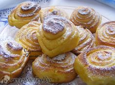 Ital Food, Cinnabon, Sweet Cookies, Sweet Pastries, Hungarian Recipes, Winter Food, Nutella, Cake Recipes, Drink Recipes