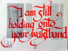 """#musiquitarica @londongrammar """"I am still holding onto your waistband"""""""