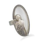 French Girl Ring with Marcasite. So unique and beautiful. Reminds you of a ring that you would purchase in Paris. So Art Nouveau!!
