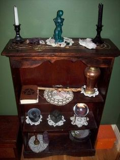 The witch's altar