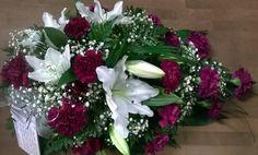 Hautavihko: lilja, neilikka, harsokukka