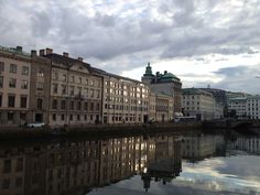 "Gothenburg, Sweden, as featured in Stieg Larsson's ""The Girl with the Dragon Tattoo""."