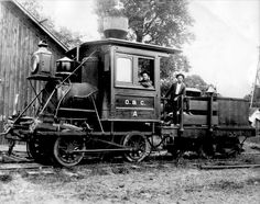 """Oregon & California  Engine """"A""""  0-4-0  (Old Betsy)"""