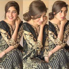 sajal ali looks beautiful with smile