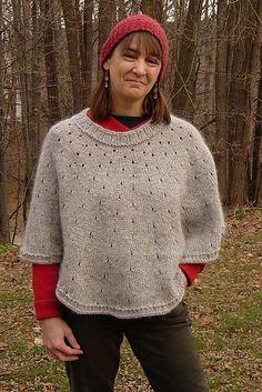 Ravelry: Capricloak pattern by Maureen Clark