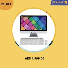 Shop for TwinMOS All-In-One PC with a wireless keyboard and Mouse online at Menakart.com. Buy Now #desktops #electronics #keyboards #mouse #TwinMos #pc #computers #online #shopping #menakart #uae