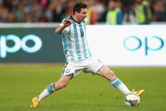 Who are 10 best strikers in the world?: Lionel Messi (Argentina