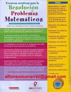 CREACIÓN PROCEDIMIENTOS SOLUCIONES MATEMATICAS PROBLEMAS MATEMATICOS