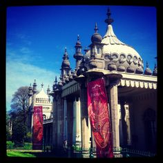 The Royal Pavilion in Brighton is a former royal residence. It is often referred to as the Brighton Pavilion Royal Pavilion, Royal Residence, Advertising Agency, Prince Of Wales, Brighton, Seaside, Taj Mahal, England, Exterior