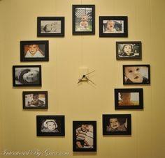 DIY wall clock!